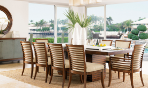 Coastal and Modern Dining Room