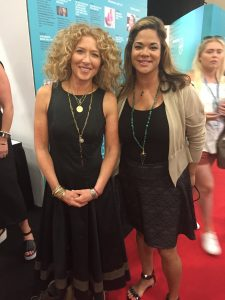 Kelly Hoppen and Erika Benfield