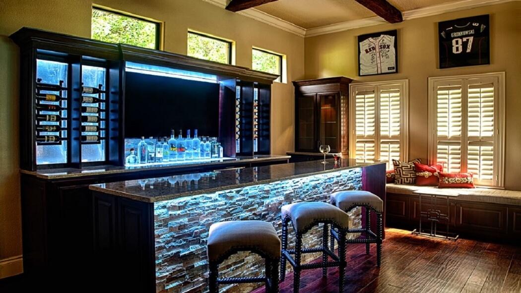 interior design in wall